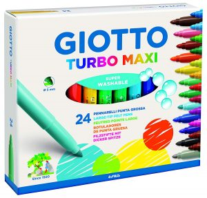 Giotto Cera Maxi 60 piezas colores surtidos tizas